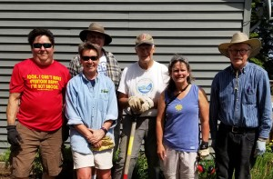 """Thanks to the volunteers who helped with Care Partners' Senior Spring Cleanup. Groups from Spirit of the Wilderness, the Cub Scouts and Bethlehem Lutheran joined our volunteers to clean up yards & gardens for eight local seniors, who said, """"It looks so wonderful.""""  """"They got so much done!"""""""