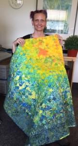 quilt winner Heidi-Doo-Kirk