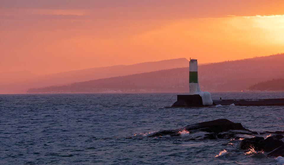 harbor-sunset